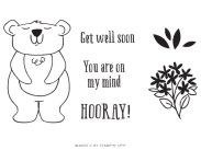 The December 2020 Beary Comforting Paper Pumpkin Kit Stamp Set Case Insert. - Stampin' Up!® - Stamp Your Art Out! www.stampyourartout.com