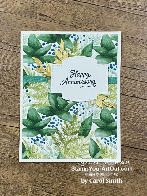 I have received more beautiful cards. And I'm very excited to share them with you. Click here to see all nineteen creations that feature Aug-Dec 2020 Mini Catalog and 2020-21 Annual Catalog products.  - Stampin' Up!® - Stamp Your Art Out! www.stampyourartout.com