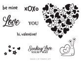 The January 2021 Sending Hearts Paper Pumpkin Kit Stamp Set Case Insert. - Stampin' Up!® - Stamp Your Art Out! www.stampyourartout.com
