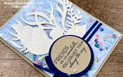 Sand & Sea – Faker Shaker and Angled Corner Layer Card