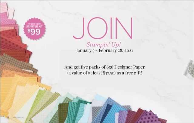 Jan-Feb 2021 Sale-a-Bration! - Stampin' Up!® - Stamp Your Art Out! www.stampyourartout.com