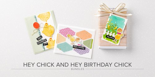 Hey Chick & Hey Birthday Chick products available February 2, 2021! - Stampin' Up!® - Stamp Your Art Out! www.stampyourartout.com