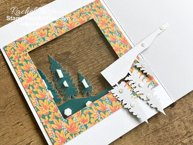 """I'm excited to share with you another card I created with the March 2021 Here's to You Paper Pumpkin Kit! Click here for photos, measurements, directions/tips for making it, and a complete product list linked to my online store. Plus, you can see several other alternate project ideas created with this kit by fellow Stampin' Up! demonstrators in our blog hop: """"A Paper Pumpkin Thing""""! - Stampin' Up!® - Stamp Your Art Out! www.stampyourartout.com"""