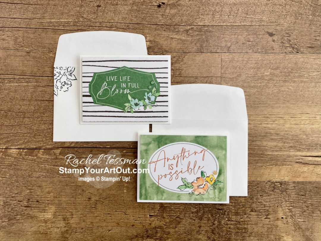 The Hand-Penned Memories & More Card Pack. Perfect for memory keeping…fits into Photo Pocket Pages but also works well for traditional scrapbook pages. Perfect for card making, too…simply layer onto any of card bases from Memories & More Cards & Envelopes packs. - Stampin' Up!® - Stamp Your Art Out! www.stampyourartout.com