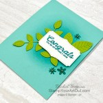 The In Bloom Bundle makes such pretty cards and projects. Here is one more card that I made for January 2021 Demos Galore presentation. Access directions, more photos, measurements, and links to the products so you can make this yourself. - Stampin' Up!® - Stamp Your Art Out! www.stampyourartout.com