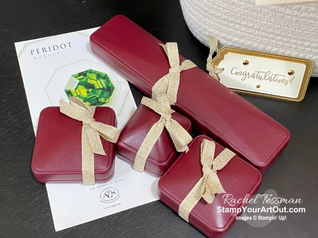 I have received over 30 cards of congrats, bouquets of beautiful flowers, and a basket of pretty jewelry! Click here to see photos of these gifts including the card sent to me by Shelli Gardner and Sara Douglass for reaching my million-dollar sales milestone. - Stampin' Up!® - Stamp Your Art Out! Stampin' Up!® - Stamp Your Art Out! www.stampyourartout.com