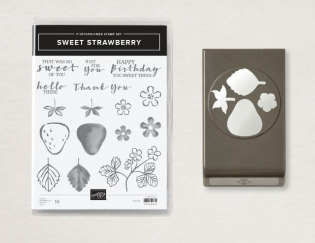 Sweet Strawberry Bundle!  - Stampin' Up!® - Stamp Your Art Out! www.stampyourartout.com