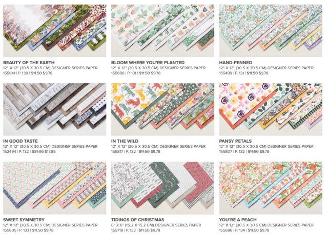 Get 15% off select packs of Designer Series Paper July 1-August 2, 2021 - Stampin' Up!® - Stamp Your Art Out! Stampin' Up!® - Stamp Your Art Out! www.stampyourartout.com