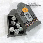 """The Cute Halloween Suite is new in the July-December 2021 and includes the following products to make this adorable project: Cutest Halloween Stamp Set, Halloween Punch, Cute Halloween 6"""" x 6"""" Designer Series Paper, Black & White 1/4"""