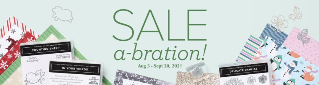 Aug-Sept 2021 Sale-a-Bration - Stampin' Up!® - Stamp Your Art Out! www.stampyourartout.com