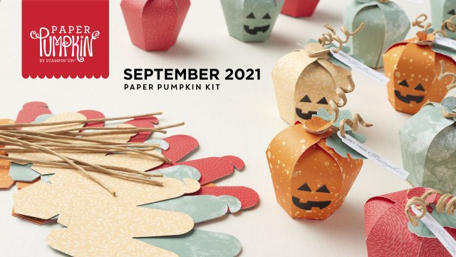 The September 2021 Haunts & Harvest Paper Pumpkin Kit.  - Stampin' Up!® - Stamp Your Art Out! www.stampyourartout.com