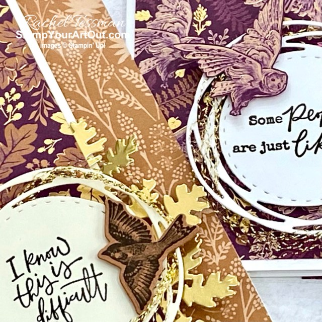 Here is a peek at the project I made for the Blackberry Beauty Suite All Star Tutorial Bundle. Place a qualifying order in the month of October 2021 and get the bundle of 12 fabulous paper crafting project tutorials for free! Or purchase it for just $15 US. - Stampin' Up!® - Stamp Your Art Out! www.stampyourartout.com