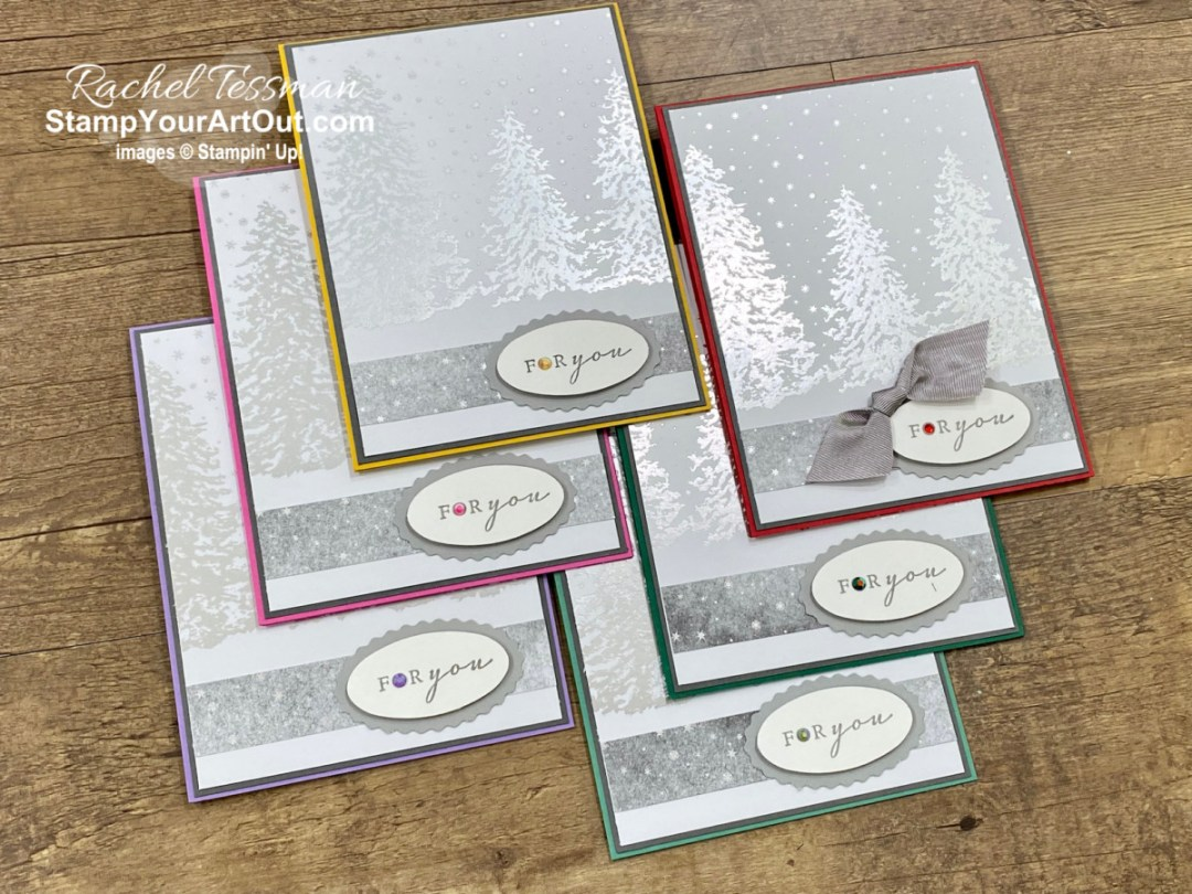 I've put together another set of simple greeting cards using the beautiful Peaceful Place designer papers. Access more photos, measurements, directions, and a supply list by clicking here. Stampin' Up!® - Stamp Your Art Out! www.stampyourartout.com
