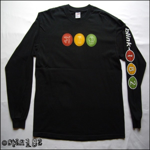 Long Sleeved T-shirts - Stan' Blink 182 Collection