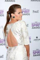 arrives at the 2012 Film Independent Spirit Awards