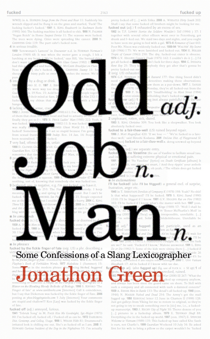 Book review: 'Odd Job Man' by slang lexicographer Jonathon