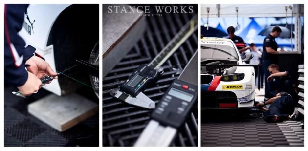 BMW ALMS alignment