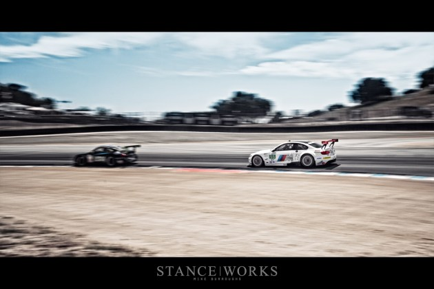 BMW ALMS Laguna Seca