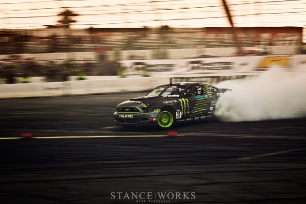 Vaugh Gittin Jr Ford Mustang Monster Energy Formula Drift Irwindale Speedway