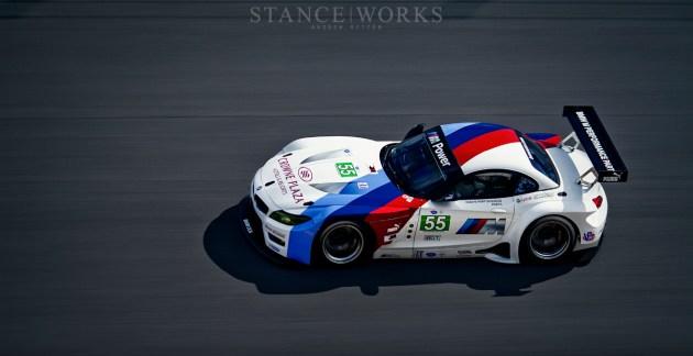 BMW Z4 GTE ALMS Daytona