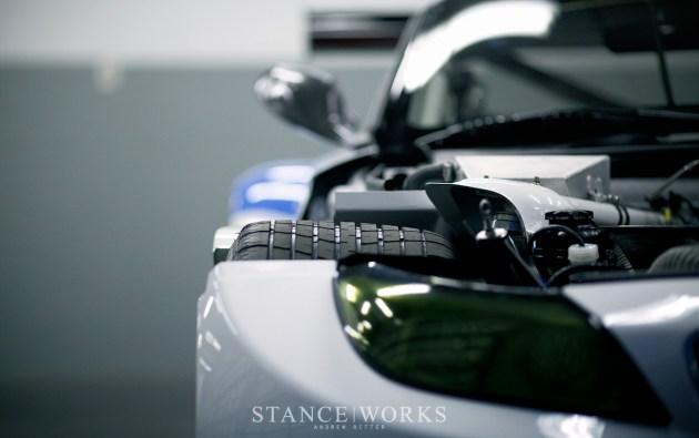 BMW Z4 GTE Michelin Tires Rain