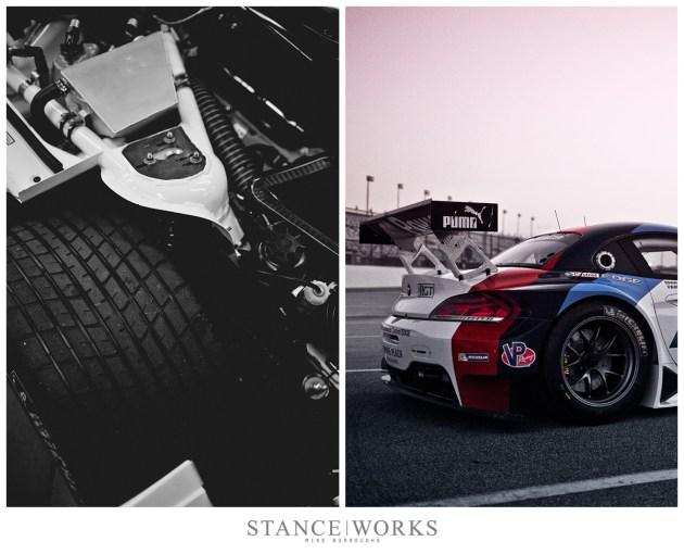 BMW Z4 GTE suspension