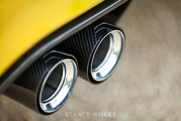 bmw m4 concept coupe exhaust tips