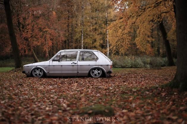 slammed mk1 volkswagen bodydrop