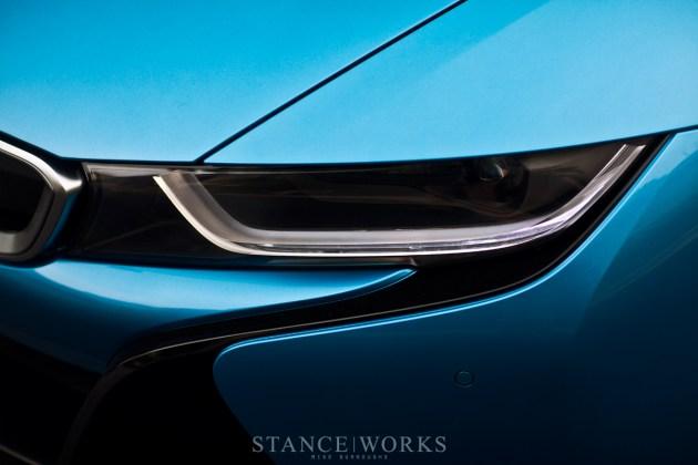 BMW I8 headlight
