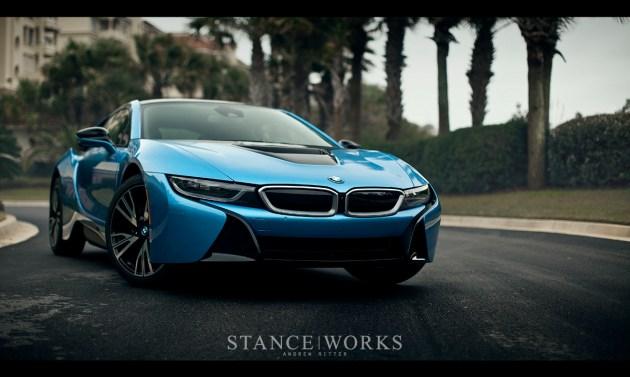 BMW I8 efficiency