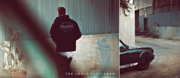 StanceWorks zip-up hoodie sweatsshirt porsche 911