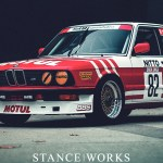 Reimagining our BMW E28 M5 Group A Tribute Car in Motul colors