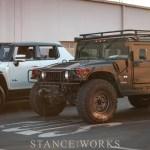 The Hummer H1 vs the GMC Hummer EV
