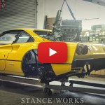 StanceWorks Build Series - Turbo Honda K24-Swapped Ferrari 308 - Chassis Chopping!