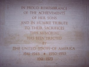 Memorial Names from World War II