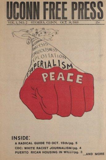 UConn Free Press Vol.1#2 1969