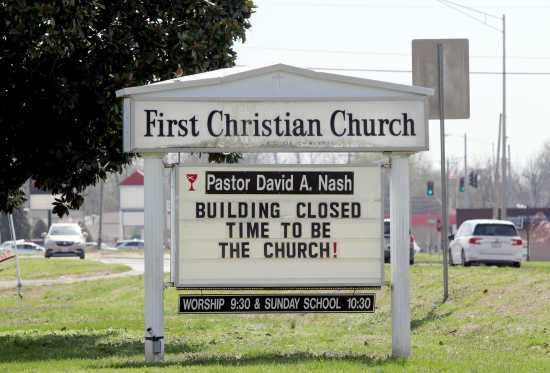 Local News: Local churches adjust to social distancing (3/26/20 ...