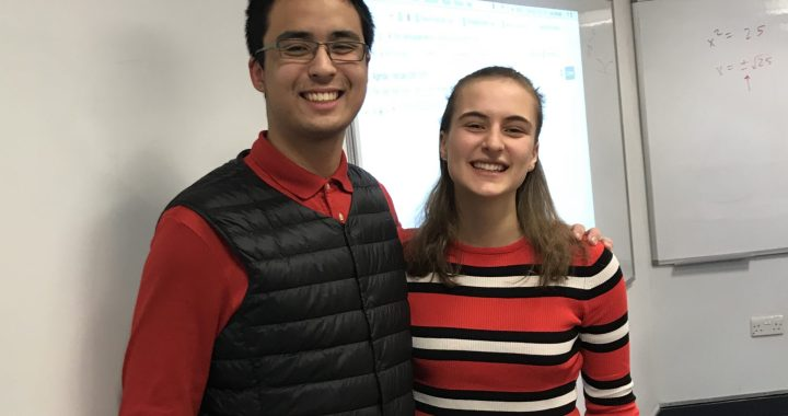 Next year's Student Council President and Vice President Announced