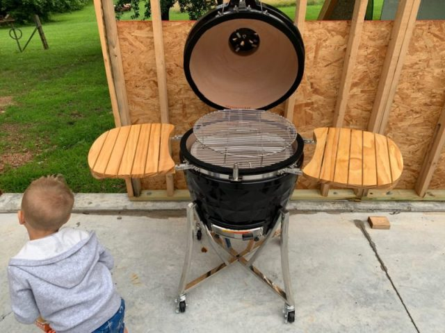 Vision Kamado Grill Review ~ The Standard American Dad