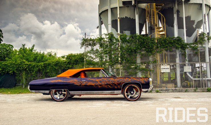 Blaze On: 1971 Chevrolet Impala Convertible