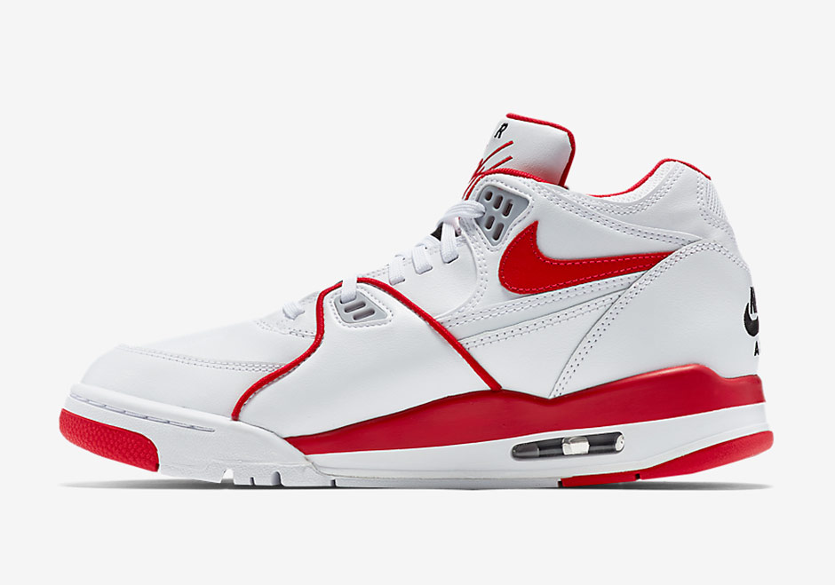 THE NIKE AIR FLIGHT '89 WHITE/UNIVERSITY RED IS COMING SOON