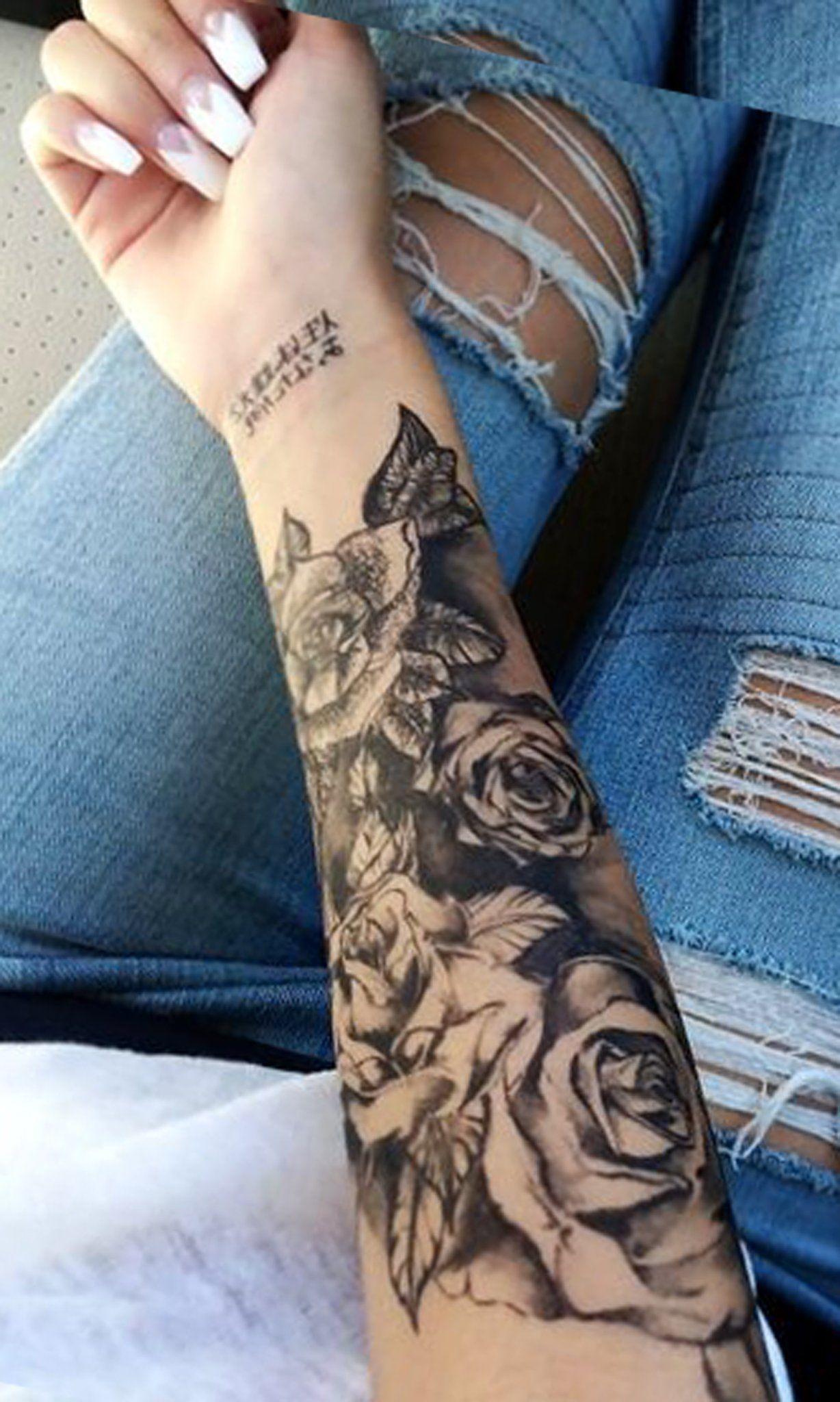 Forearm Half Arm Sleeve Tattoos Best Tattoo Ideas
