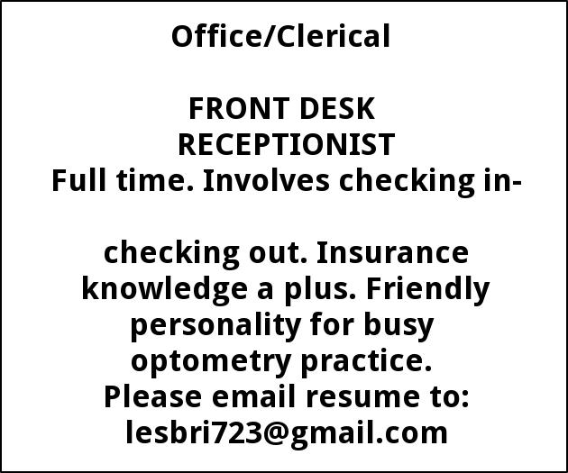 OPHTHALMIC ASSISTANT/ TECHNICIAN, Hazleton Eye Specialists