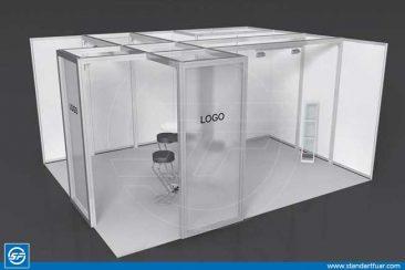 Maxima Fair Stands, Custom Stand Models, Modular Stand