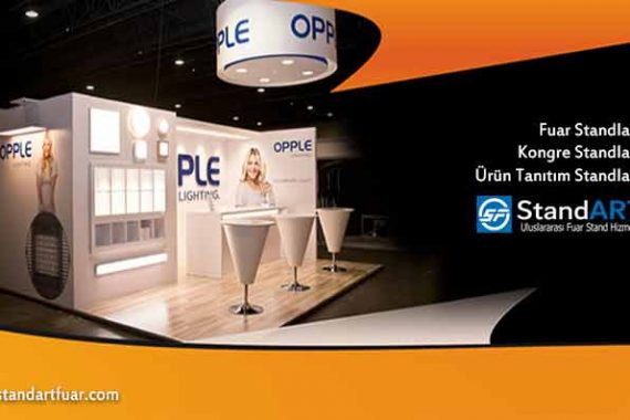 Exhibition Stands, Fair Stand Models, Custom Stand Designs