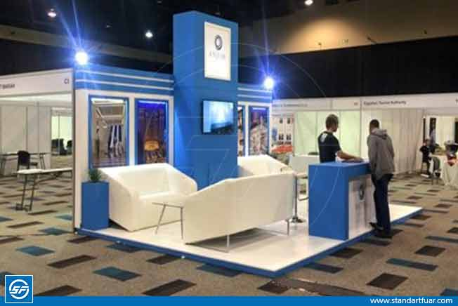 Modular Synth Stand, Expo Display Booth, Exhibition Display Ideas