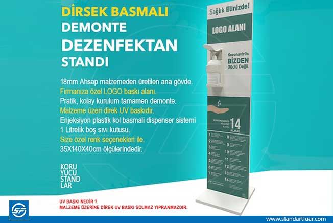 İzmir Dezenfektan Standı Çeşitleri