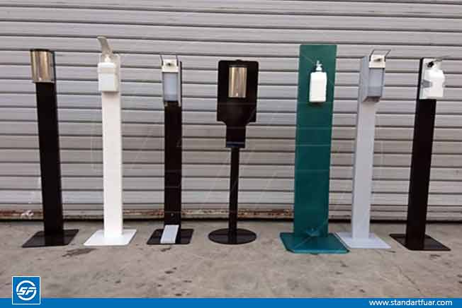 Disinfectant Stand, Hand Sanitizer Stands