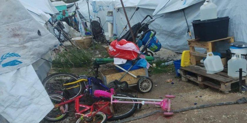 Refugees current situation in Kara Tepe II Camp