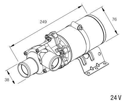Original Eberspächer Wasserpumpe Flowtronic 5000 24V